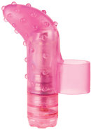 Finger Fun Massager Waterproof Pink